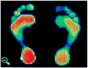 Foot stop scaner