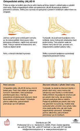 Ortopedické stélky JALAS