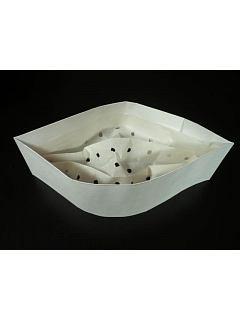 Lodička papírová bílá