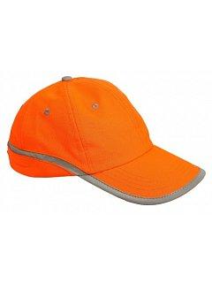 Kšiltovka TAHR reflexní oranžová