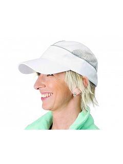Čepice ALZETTE kšiltovka bílá se síťkou