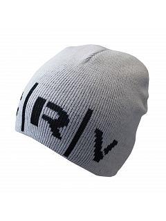 Čepice CROKER oboustranná černo-bílá