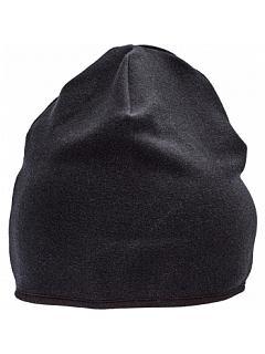 Čepice WATTLE lehká oboustranná černá