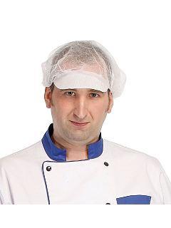 Čepice VAPI PEAK jednorázová s kšiltem bílá