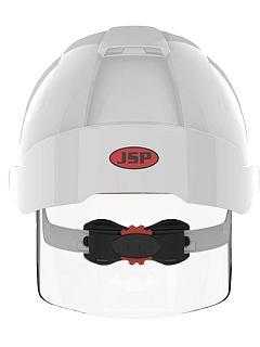 Přilba JSP EVO VISTA Shield štít bílá