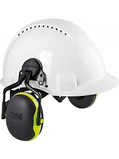 Sluchátka dělená na přilbu Peltor X4P5