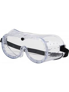Brýle ODER uzavřené přímo větrané