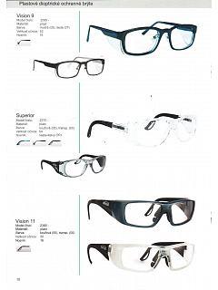 Brýle ochranné dioptrické Infield