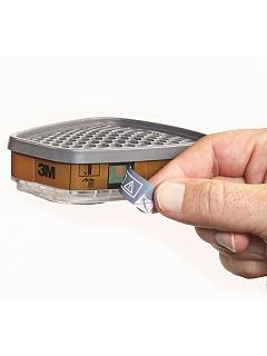 Filtr A2 - 3M 6055i  s indikátorem životnosti