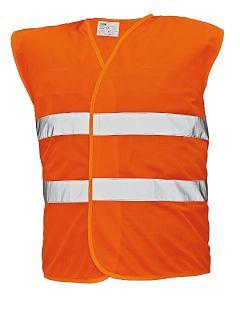 Vesta LYNX výstražná s reflexními pruhy oranžová