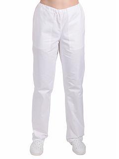 Dámské kalhoty bílé do gumy