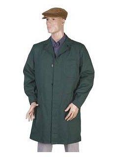 Plášť pánský zelený dlouhý rukáv