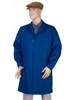 Plášť pánský dlouhý rukáv modrý