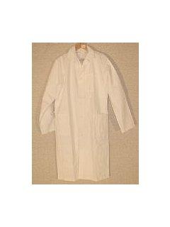 Plášť  pánský dlouhý rukáv bílý