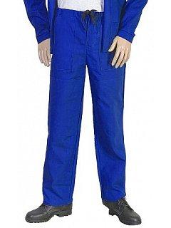 Kalhoty do pasu  pánské modré