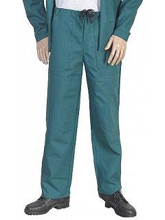 Kalhoty do pasu  pánské zelené