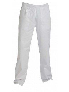 Kalhoty APUS dámské bílé do pasu