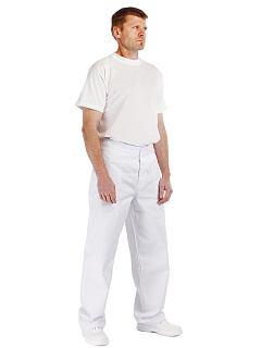 Kalhoty APUS pánské bílé do pasu