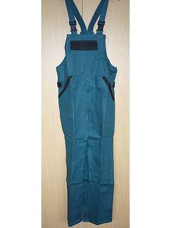 Kalhoty s náprsenkou pánské zesílená kolena + sed