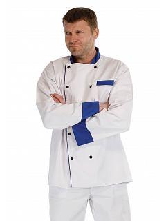 Rondon dlouhý rukáv bílá/modrá