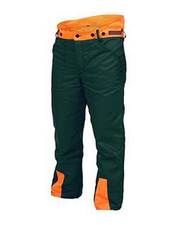 Samostatné kalhoty PROFESIONAL II.M do pasu zelené