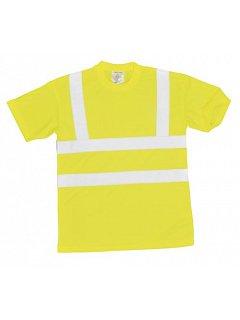 Reflexní žluté triko