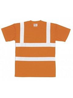 Reflexní oranžové triko GO/RT