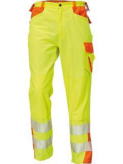 Kalhoty pánské LATTON hi-vis žluto-oranžové