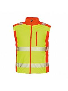 Bunda LATTON hi-vis softshel