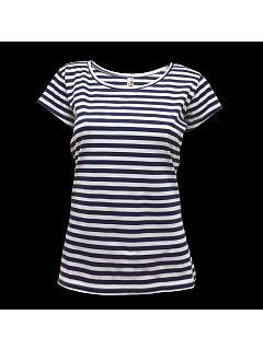 Tričko námořnické krátký rukáv dámské