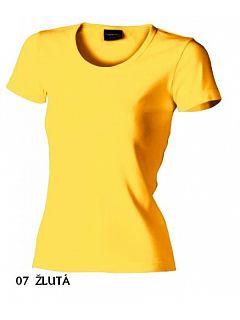 Dámské tričko s kulatým výstřihem