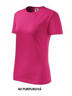 Tričko dámské  krátký rukáv 145g 100% BA