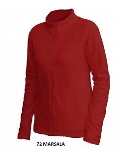 Mikina dámská fleece dlouhý zip
