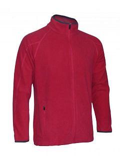 Mikina pánská fleece dlouhý zip 160g