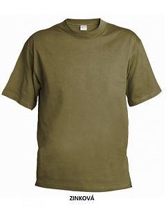 Tričko krátký rukáv 190 g barevné