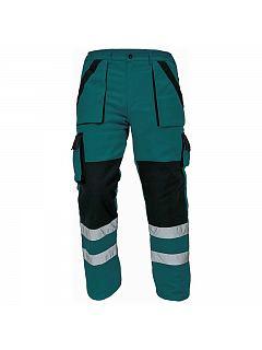 Kalhoty do pasu MAX zimní s reflexními pruhy