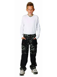 Kalhoty do pasu EMERTON KIDS camouflage