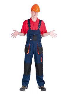 Kalhoty Emerton pracovní s laclem