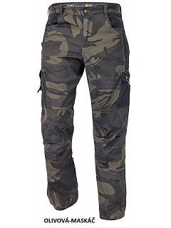Kalhoty CRAMBE kamufláž  PES/BA