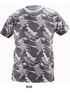 Tričko pánské CRAMBE kamufláž