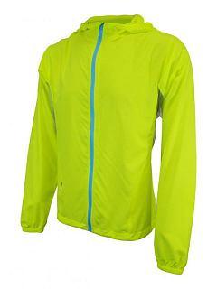 Pánská bunda větrovka reflexní žlutá