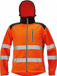 Softshellová bunda Knoxfield Hi-vis