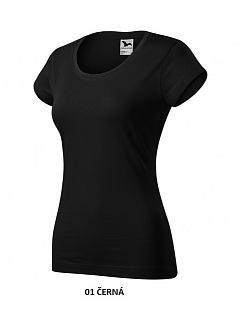 Tričko dámské krátký rukáv 180g 100% BA