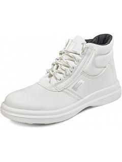 Kotníková obuv PANDA Sanitary ASTURA S1 bílá