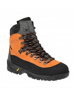 Protipořezová obuv RESCUE černo-oranžová