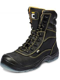 Poloholeňová obuv BK TPU S3 SRC černá