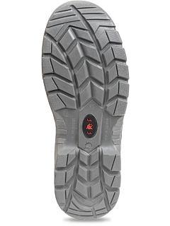 Poloholeňová obuv HOF SC-03-009 S3 černá