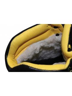 Kotníková obuv BK TPU S3 zimní černá