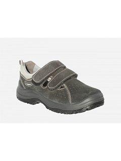 Sandál šedý 2pásky  JAN S1
