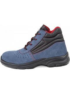 Kotníková obuv RUFUS MF S1 SRC modrá